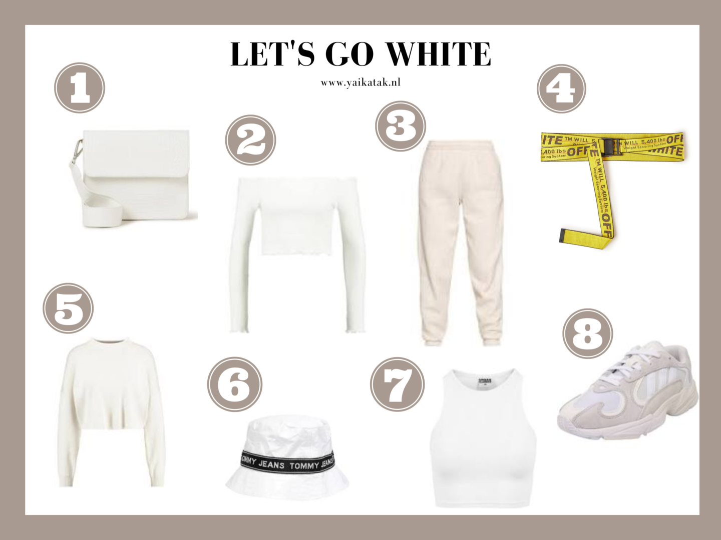Mijn favoriete witte fashion musthaves van dit moment