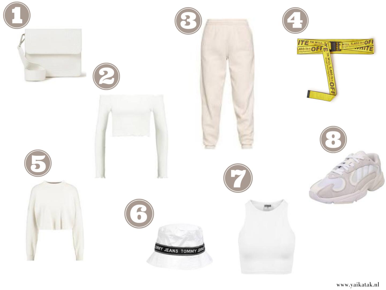 Witte fashion musthaves | Yaika Tak