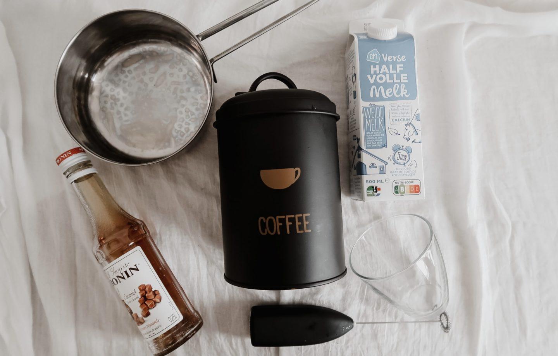 benodigdheden cappuccino maken
